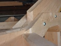 Detail charpente assemblee